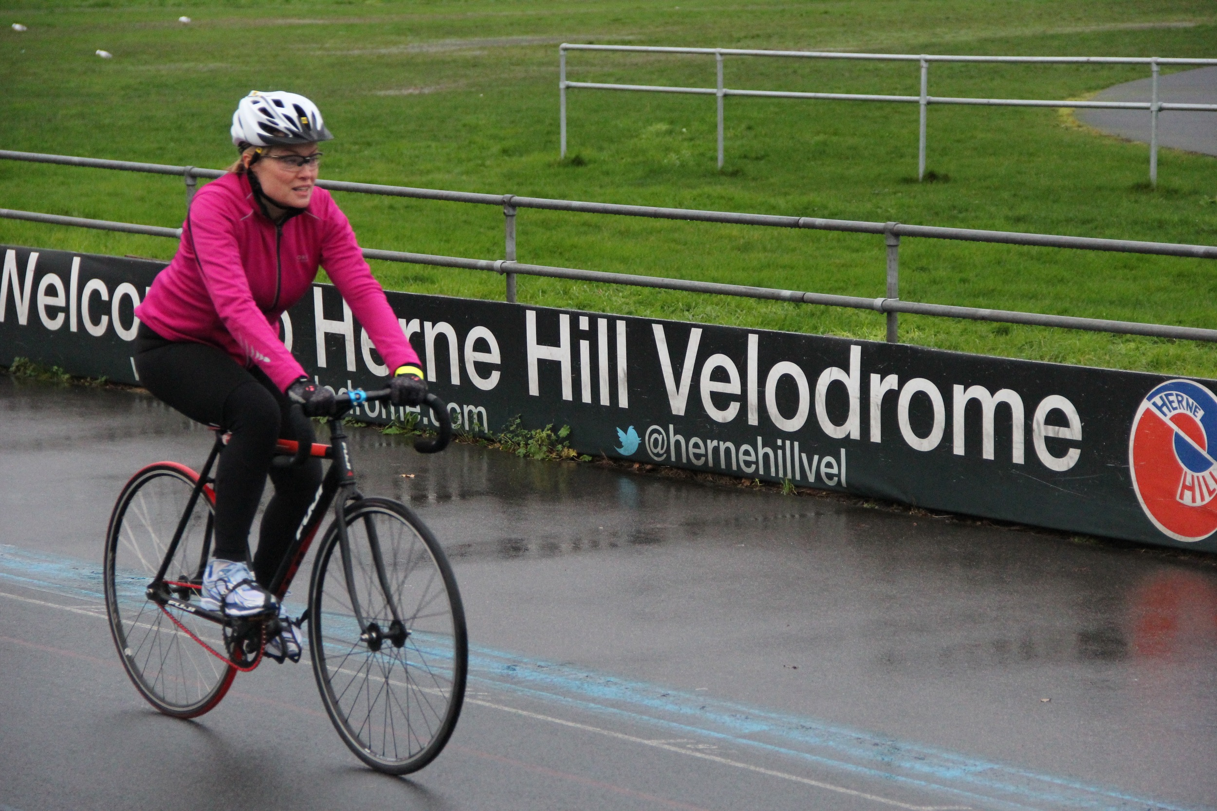 Welcome to Herne Hill Velodrome