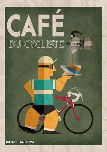 Mark Fairhurst  Cafe du Cycliste
