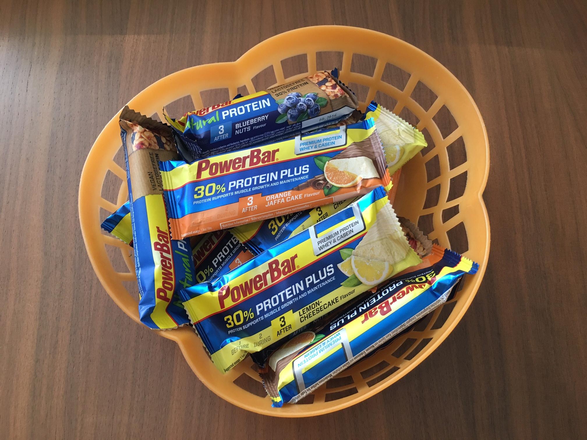 Tasty new offerings from PowerBar