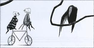 Edward Gorey's fictional bike