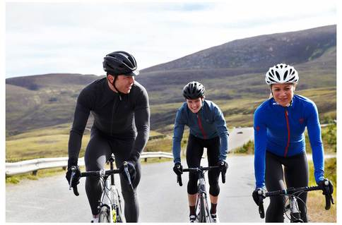 From £47.99, the Hoy Vulpine Roubaix long sleeved jerseys, modelled by the man himself and some friends