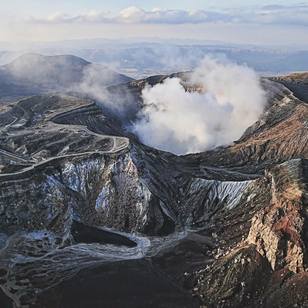 Active and dormant volcanoes