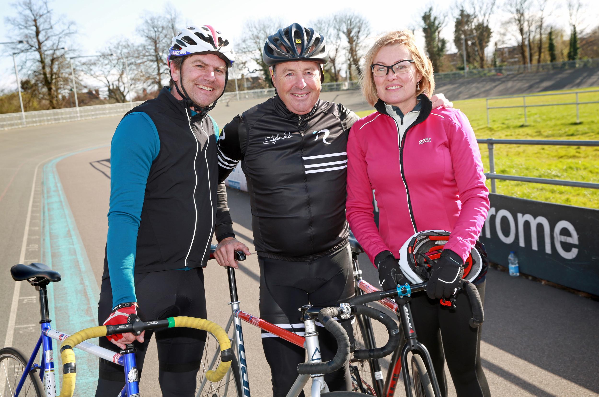 Stephen Roche in a Ride Velo sandwich!