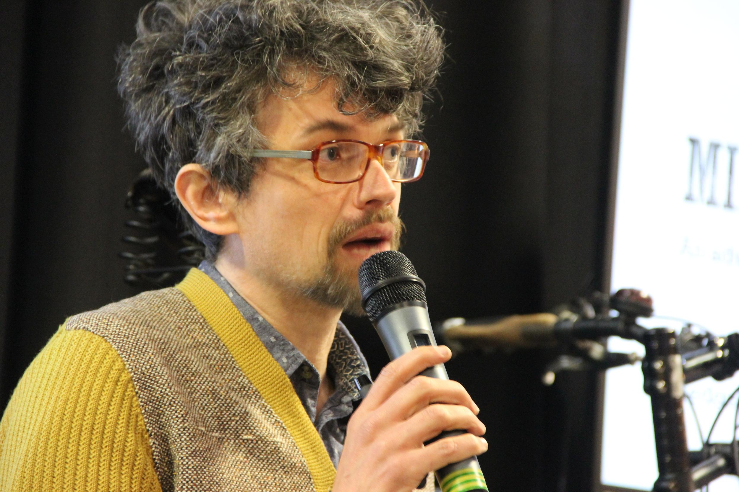 Writer, psychiatrist and philosopher Jet McDonald