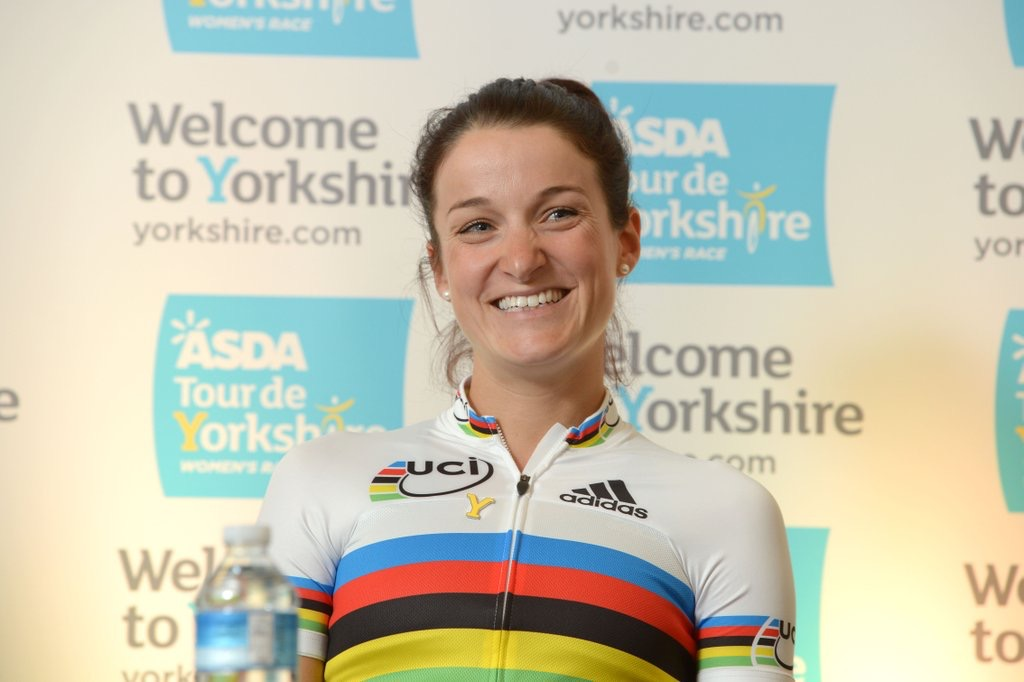 Local girl Lizzie Armitstead  - picture courtesy of Tour de Yorkshire