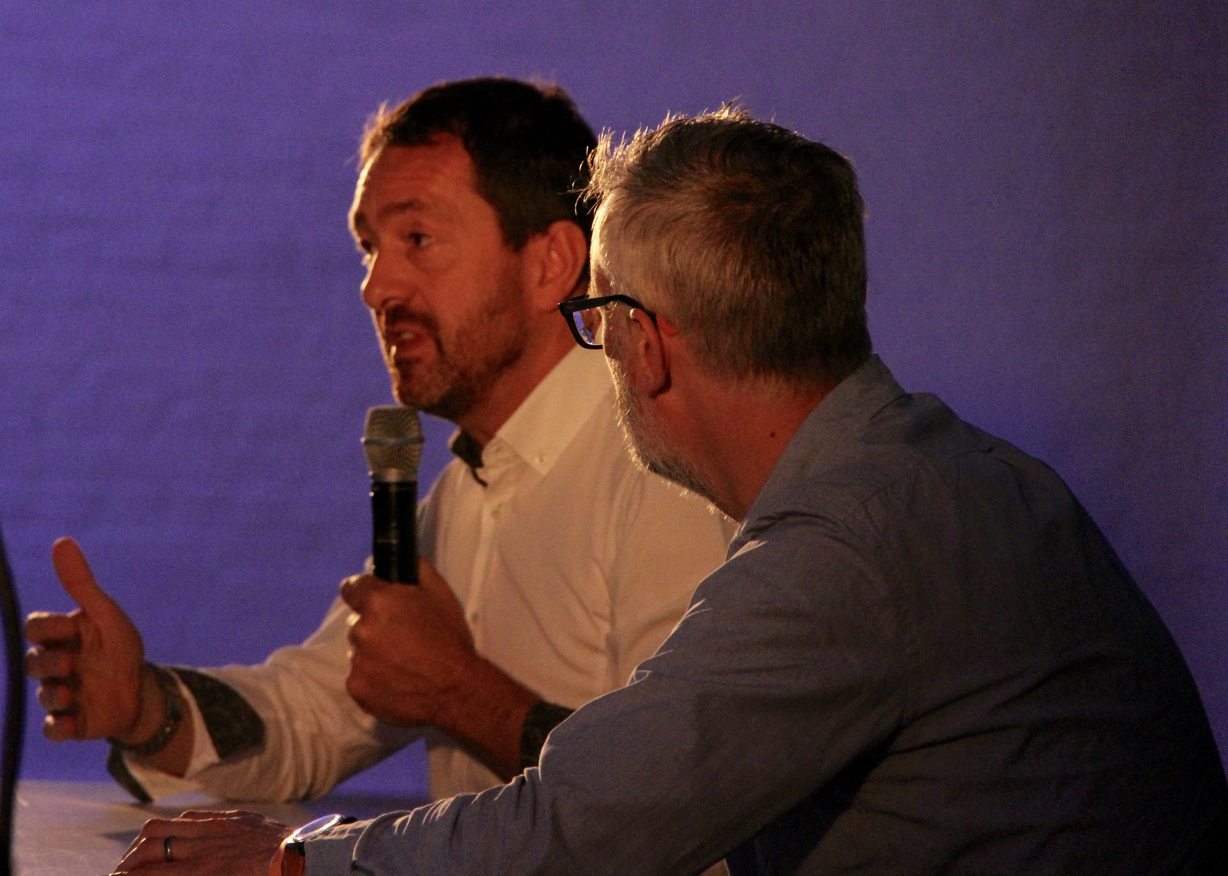 Chris Boardman opens up for the audience at Spin London