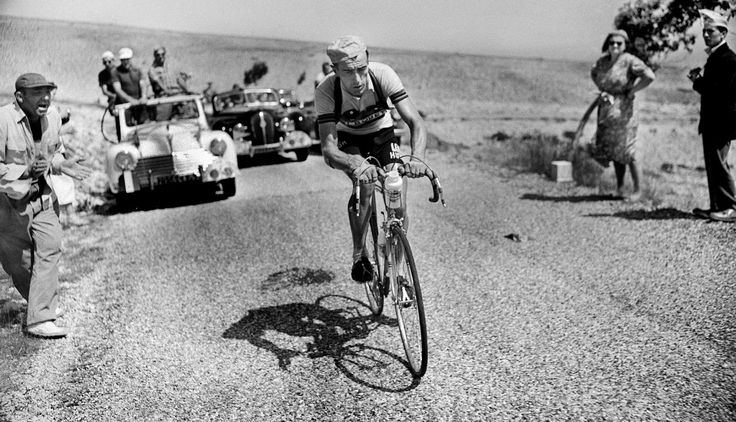 Charly Gaul: the first Tour de France stage winner on Ventoux