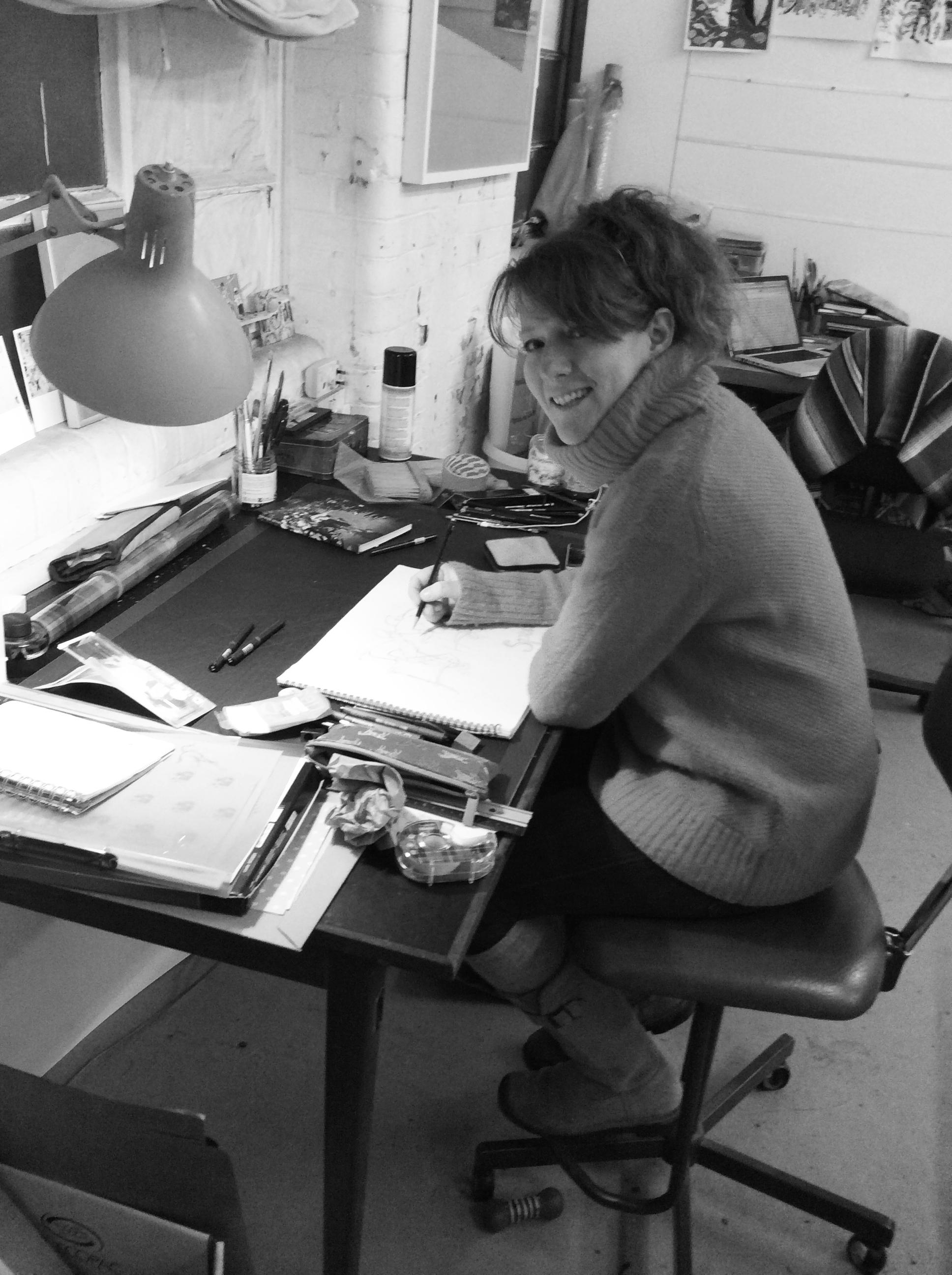 Artist and illustrator, Eliza Southwood