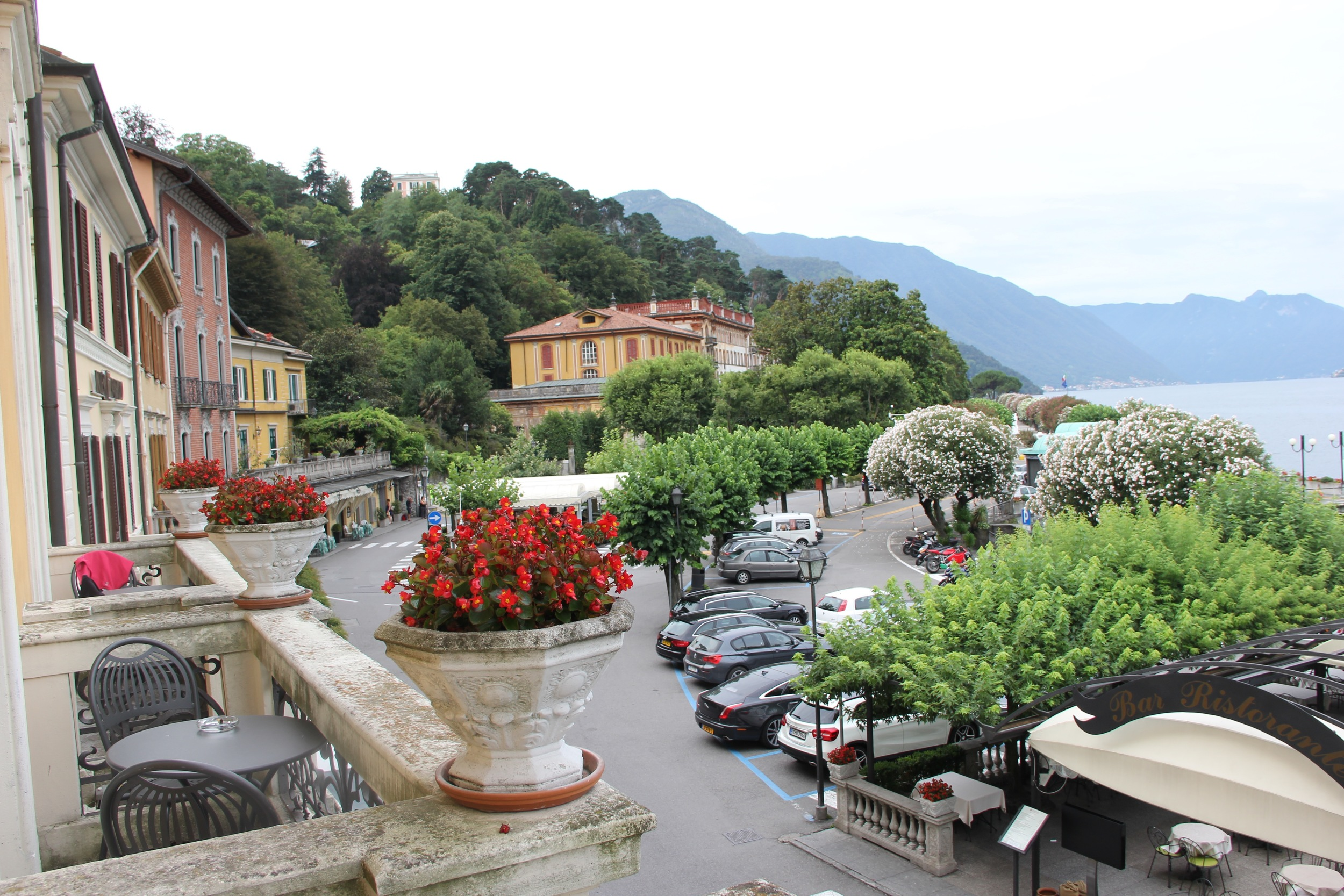 Bellagio is an elegant town full of faded grandeur