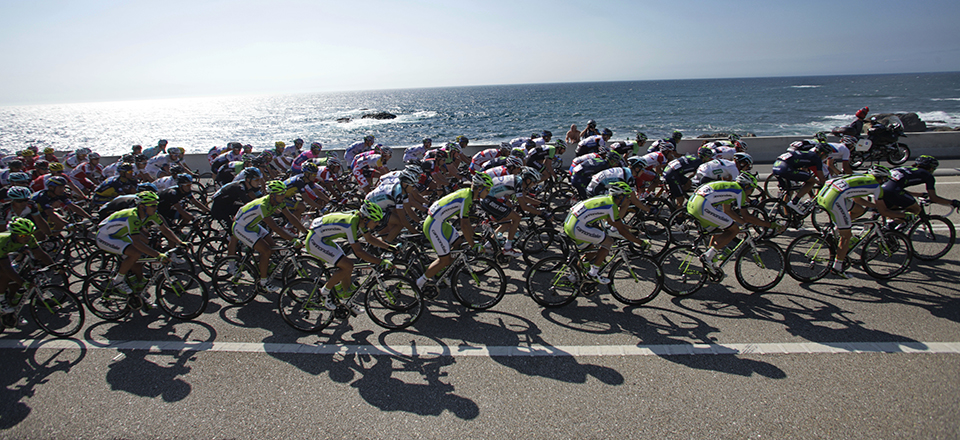 The Vuelta shows off Spain's beautiful landscape