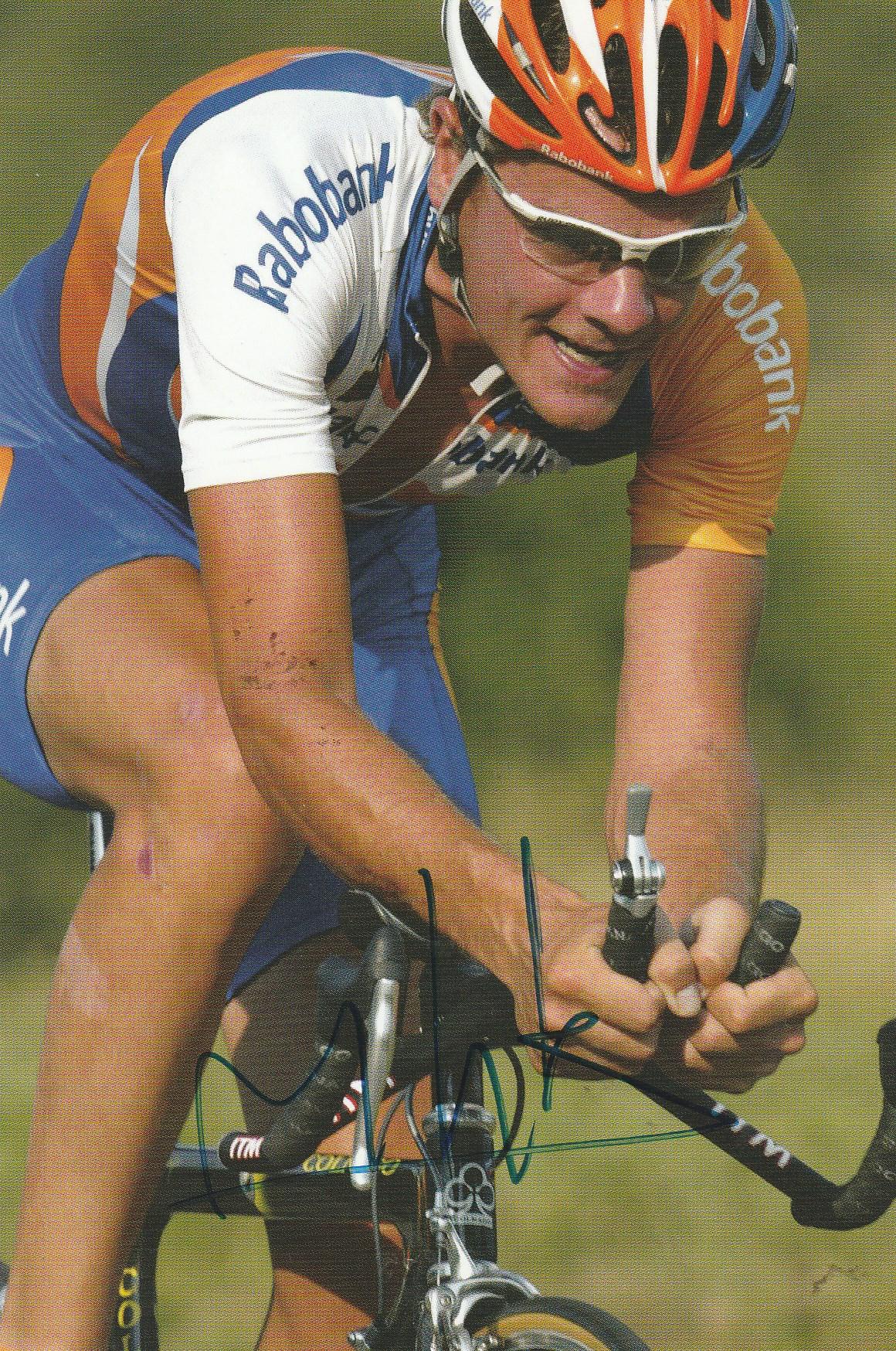 Marc Lotz rode the Tour de France five times  (Photograph courtesy of autographe1.e-monsite.com)