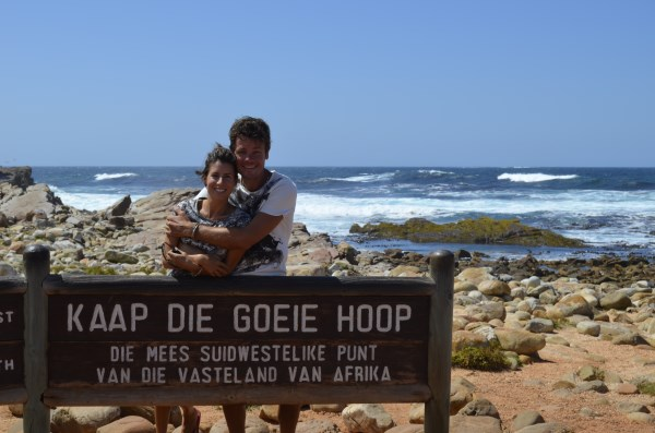 Reaching the most South Westerly point of Africa