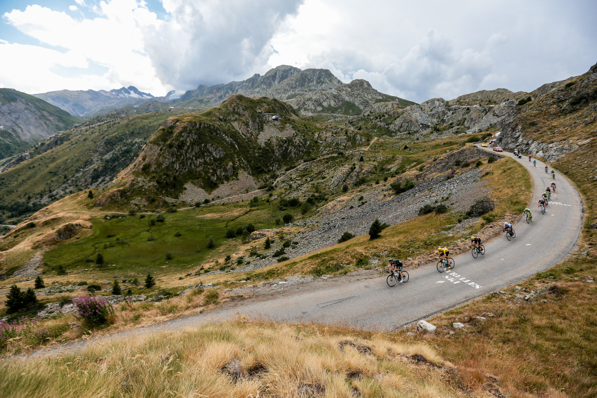 A mountain stage from the 2013 Tour de France