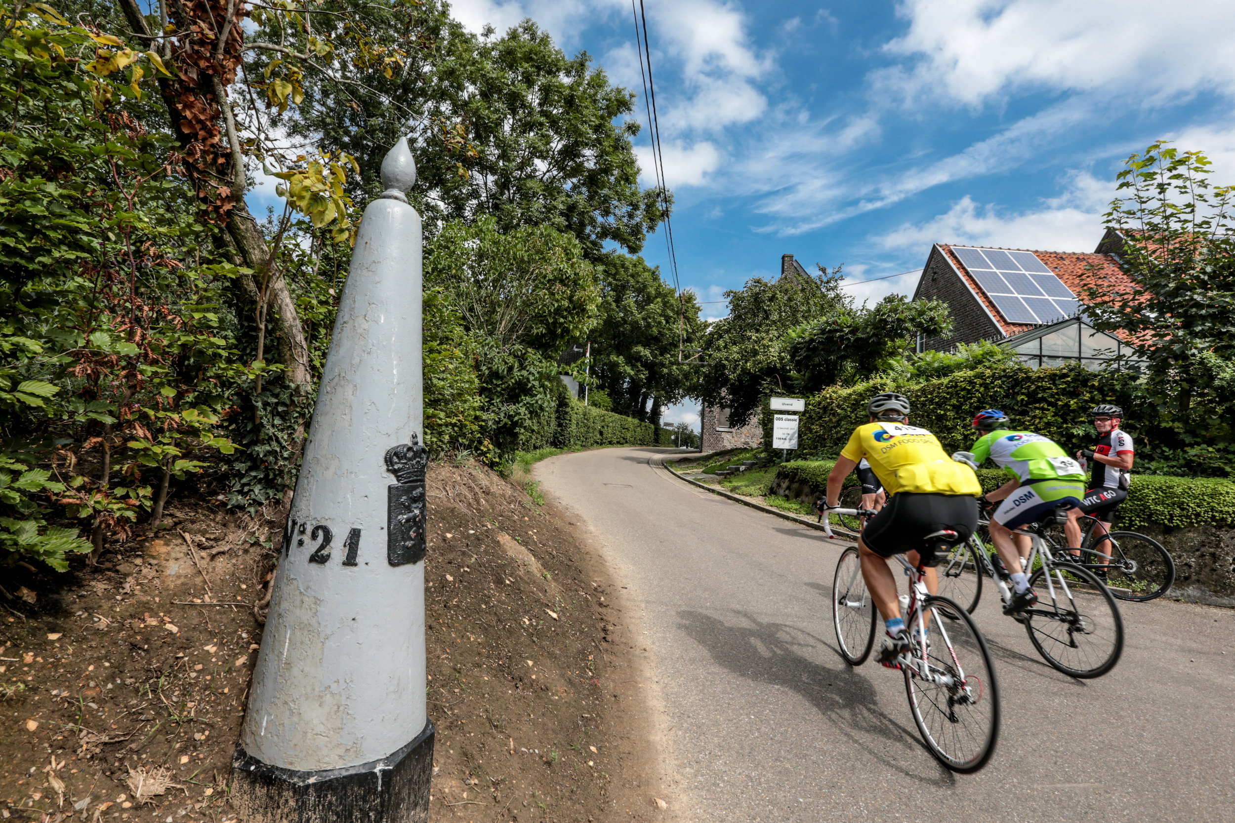 George's beloved Limburg and the cross border region is a haven for cyclists