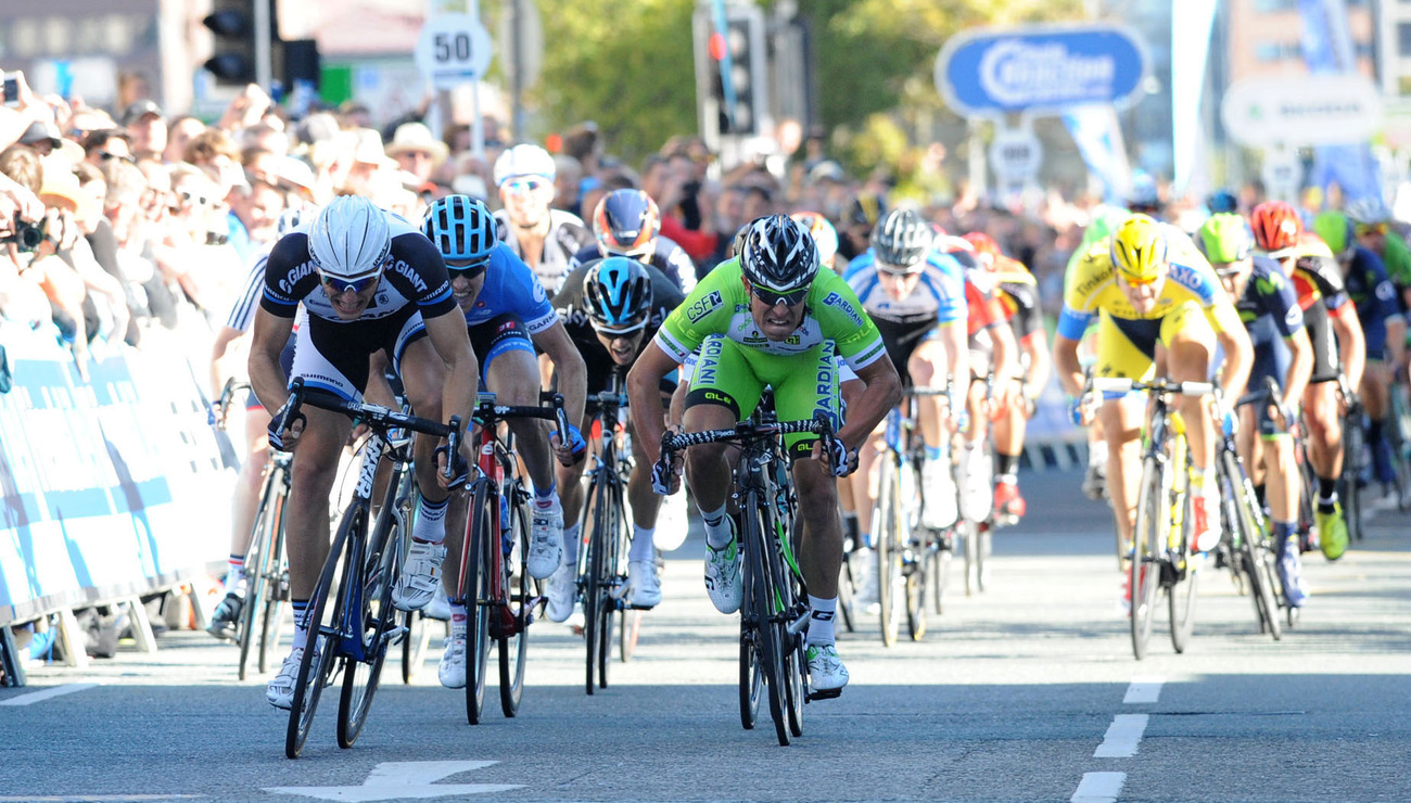 A strong sprinting line up including Cavendish, Greipell, Viviani and Ewan  (Picture courtesy of tourofbritain.co.uk)