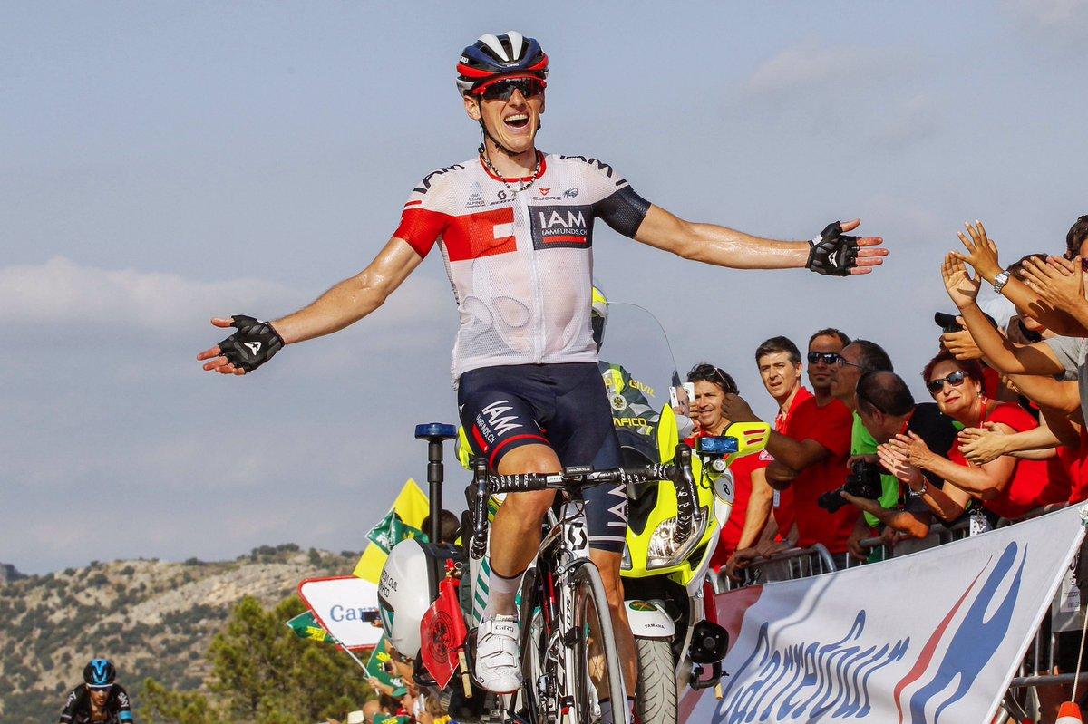 Mathias Frank wins Stage 18