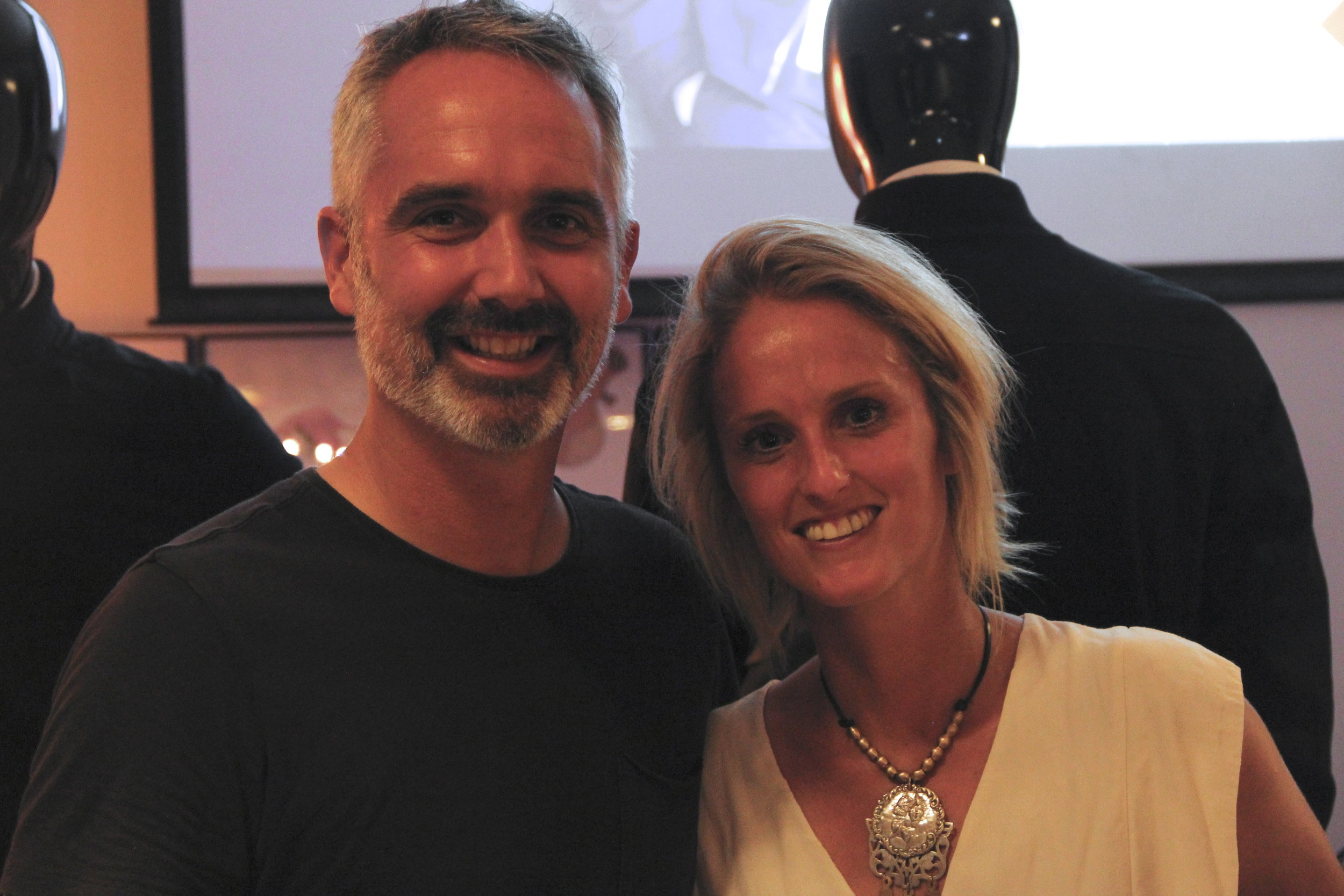 Doug and Lucy, LUMO's founders