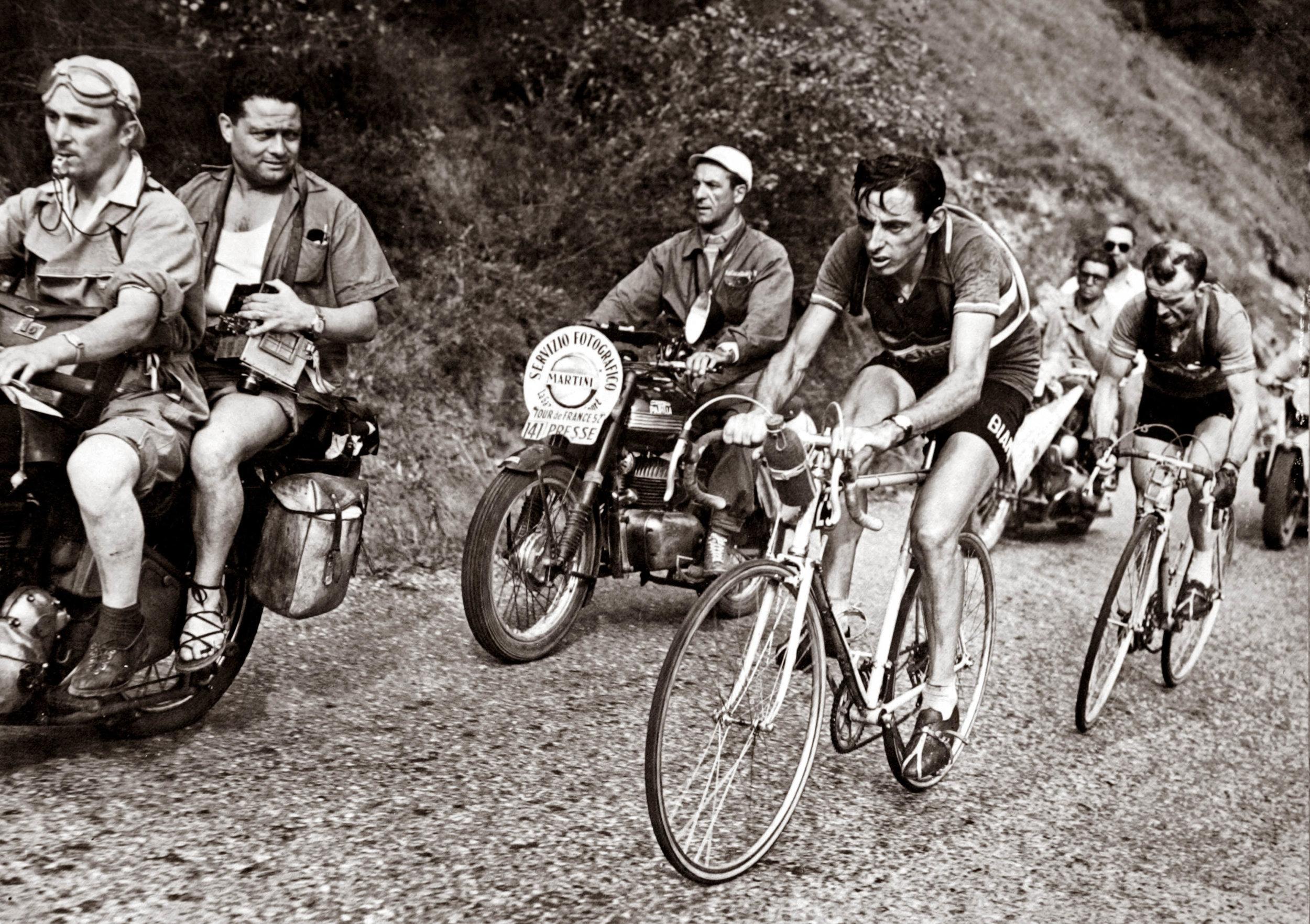 Fausto Coppi won five times