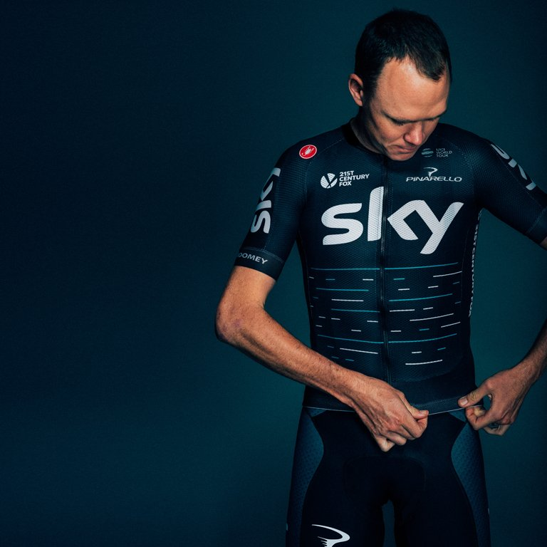 Does my bum look big in this? Photo courtesy of Team Sky