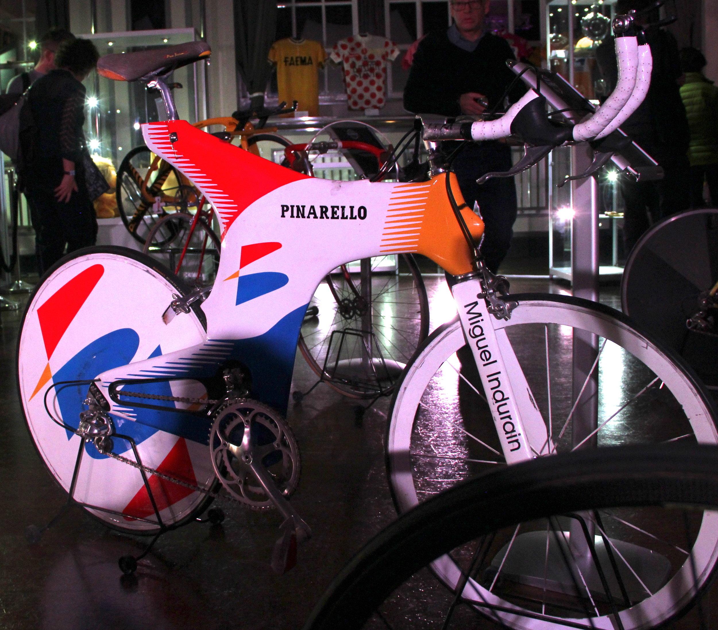 Indurain's Hour bike