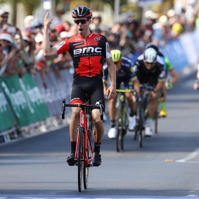 Newly crowned Aussie National Champion Miles Scotson will be supporting Porte