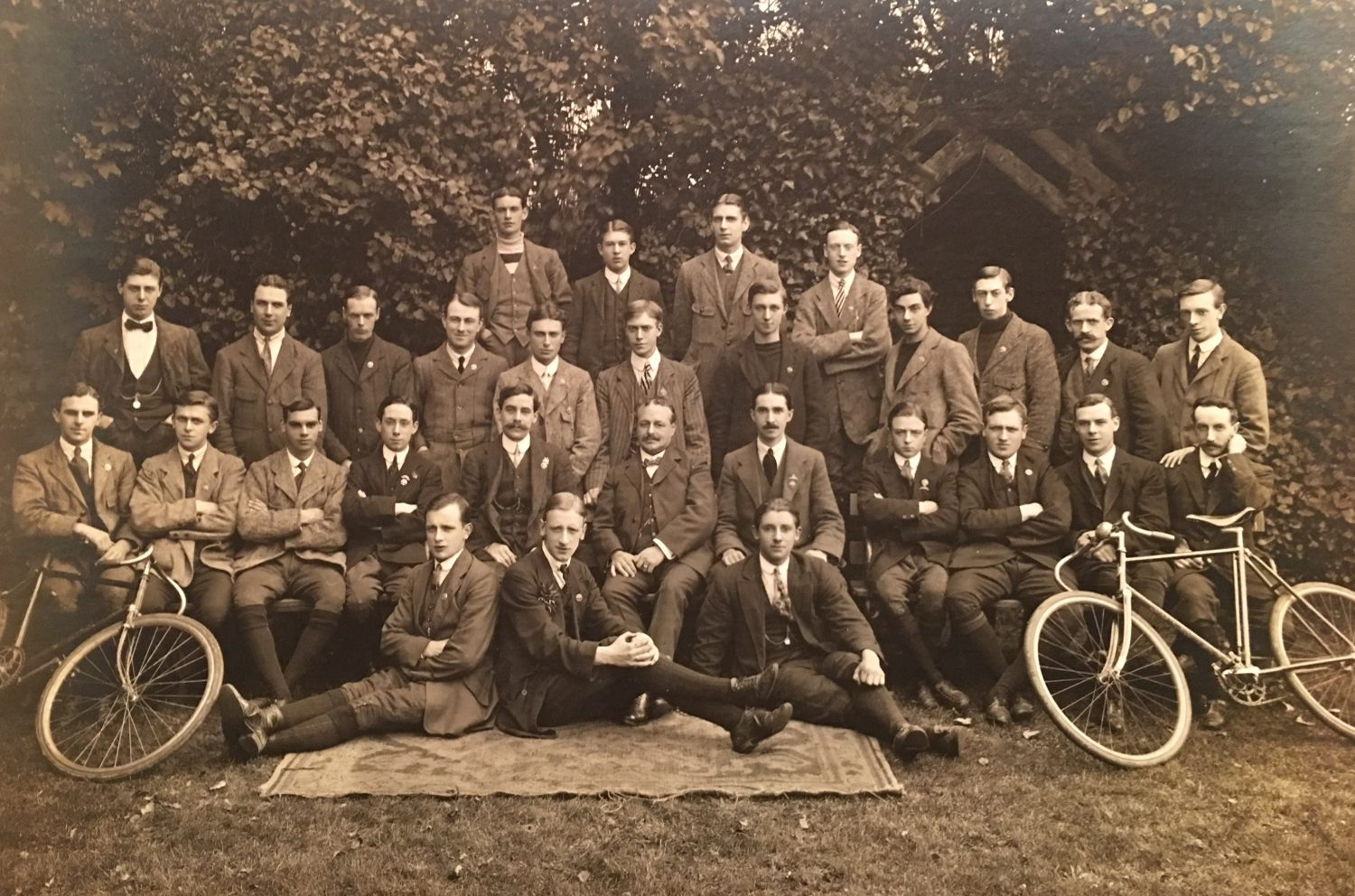 Balham Cycling Club on the eve of WWI