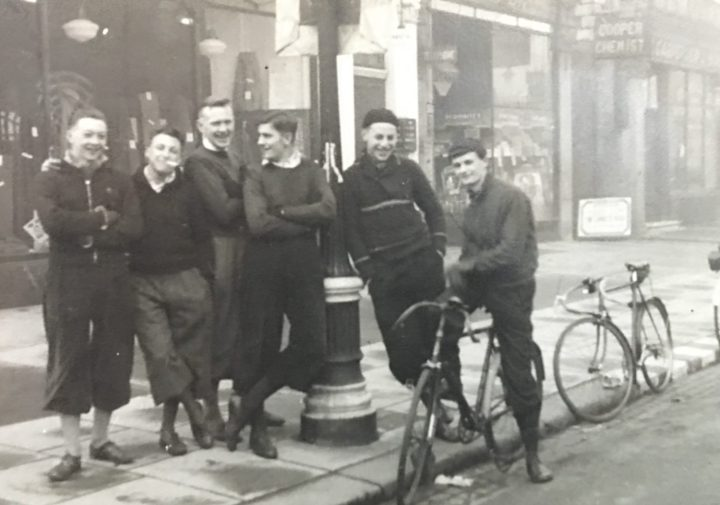 Ken Smith (far left) in 1939