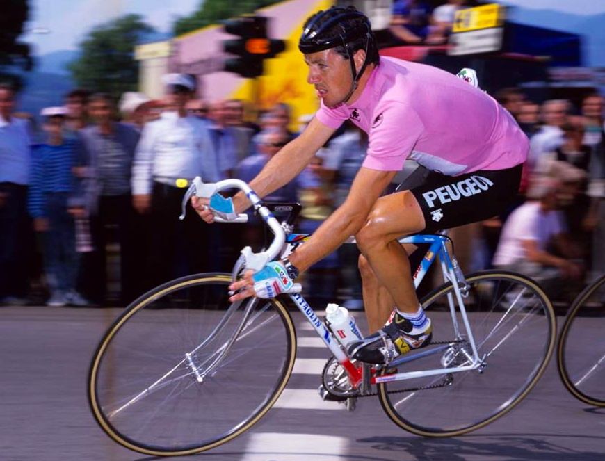 Winning the Giro d'Italia