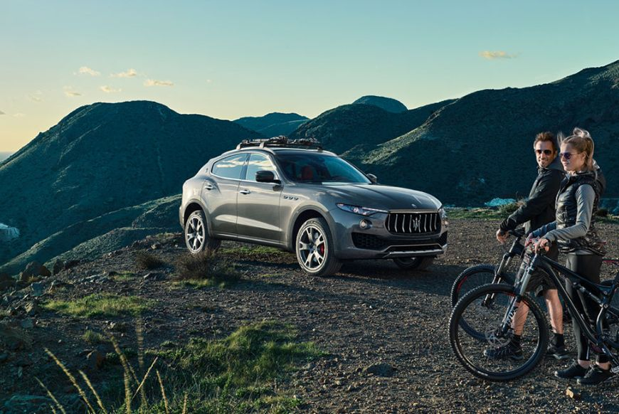 Maserati's SUV, the Levante