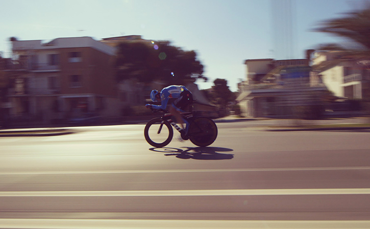 An image from the forthcoming film,  Time Trial