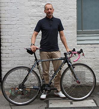 Simon Mottram, 51, founder of Rapha