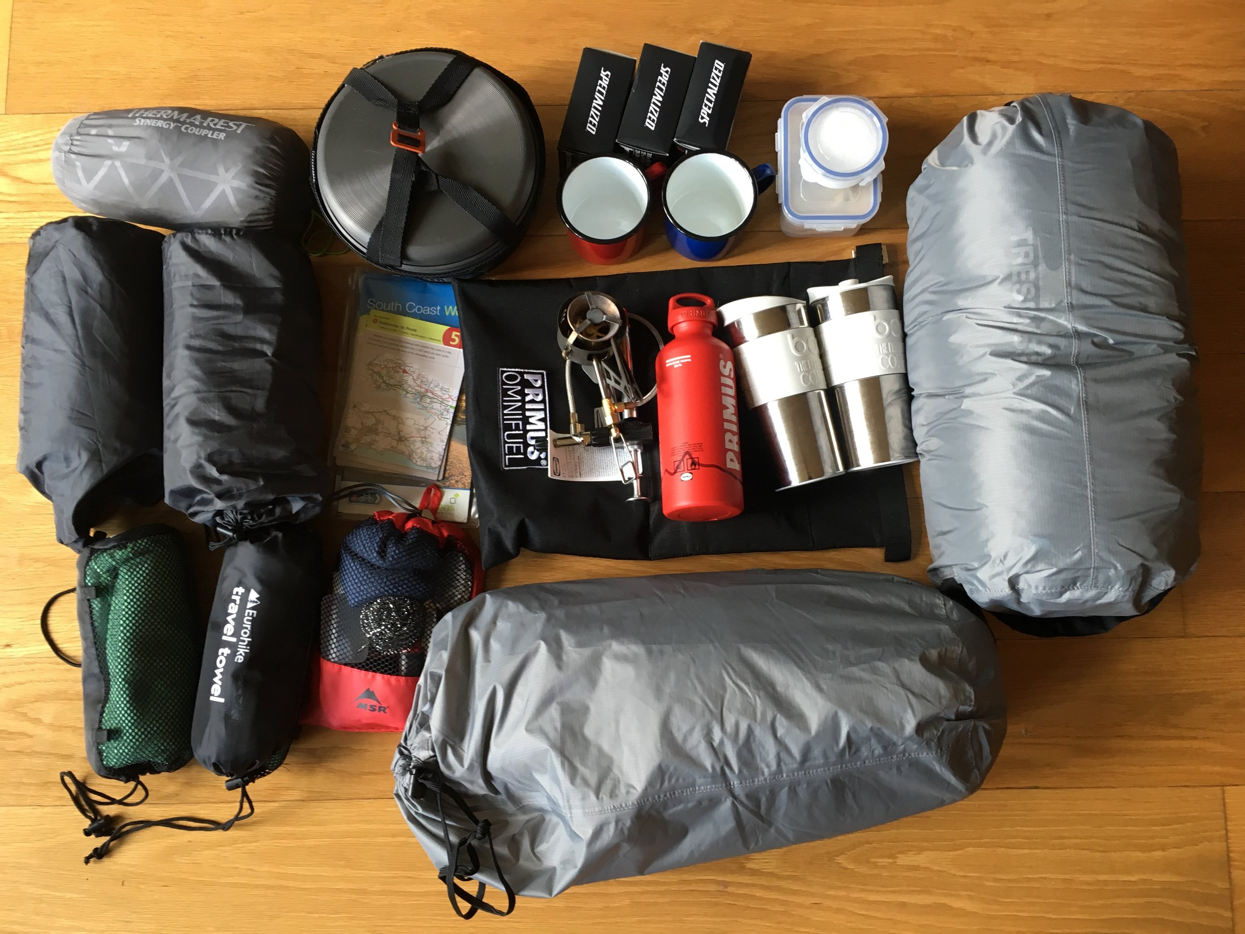Super duper camping kit