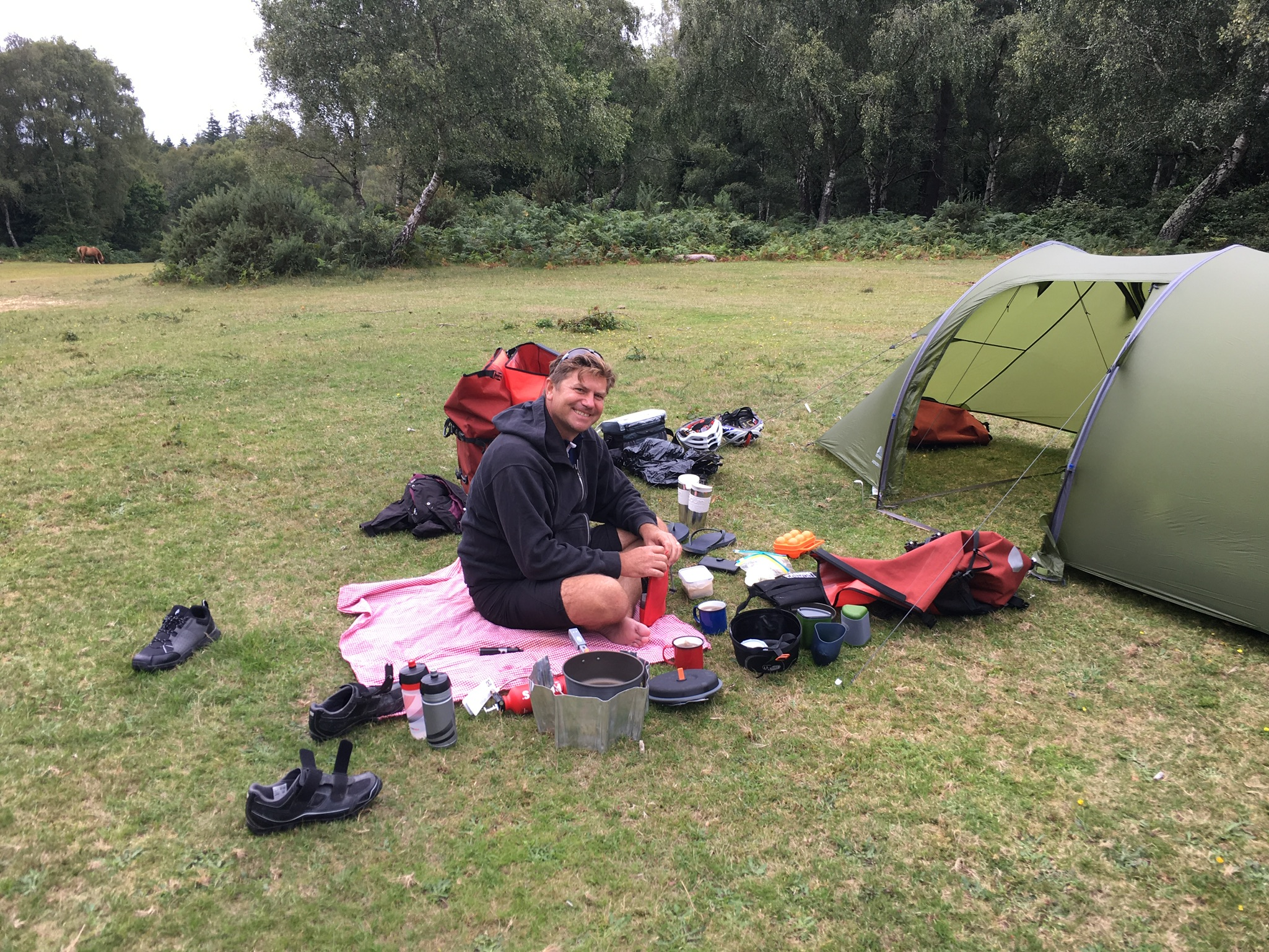 Making good use of all our kit in the New Forest
