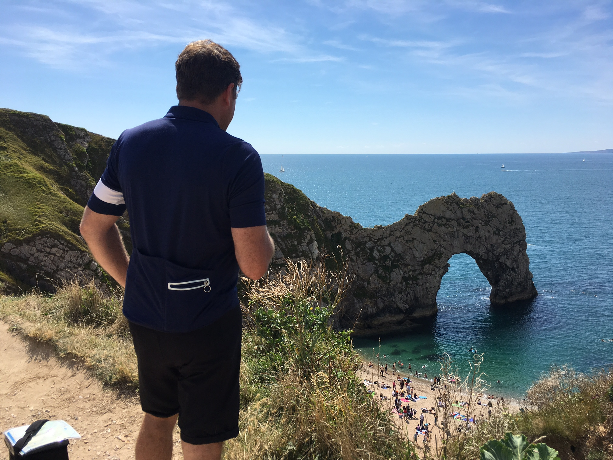 Durdle Door on a beautiful day