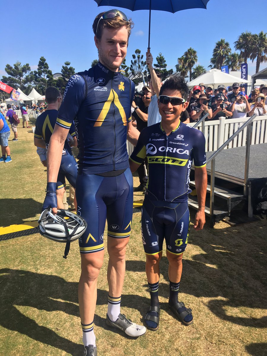Conor Dunne and Esteban Chaves