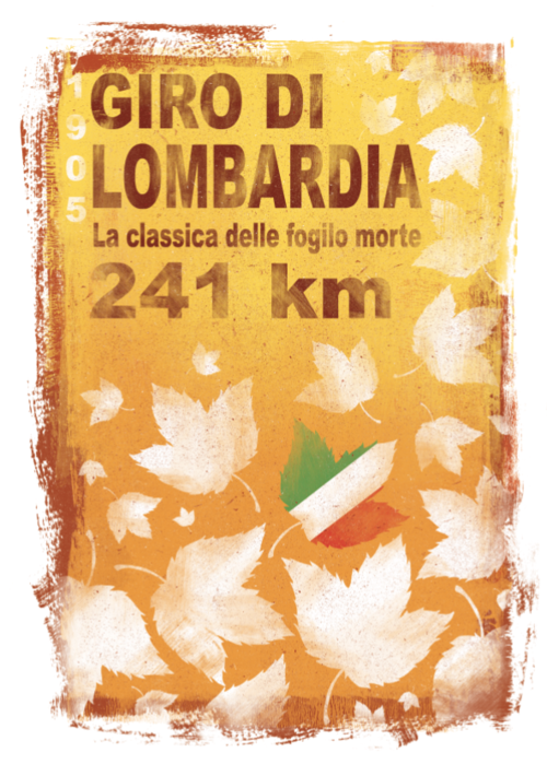 Gareth Llewhellin's limited edition Lombardia print is available from the  Ride Velo Shop