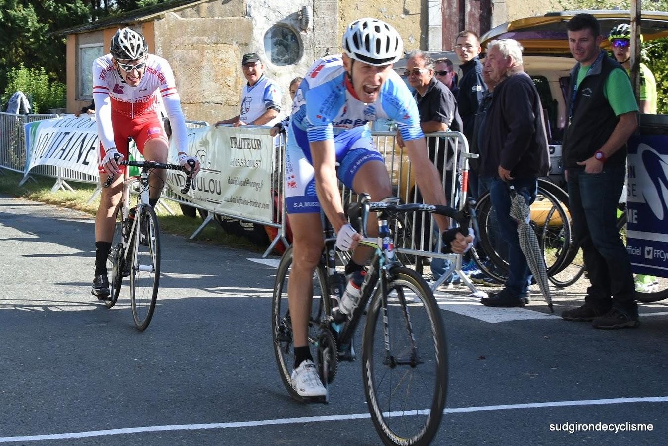 Cyril Fontayne, winning a race earlier this season  (Photo courtesy of sudgirondecyclisme)