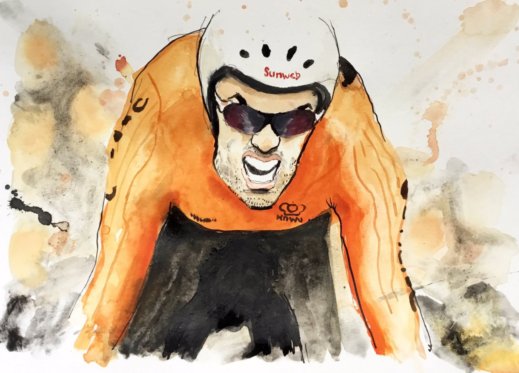 The unmistakeable jaw of Dumoulin