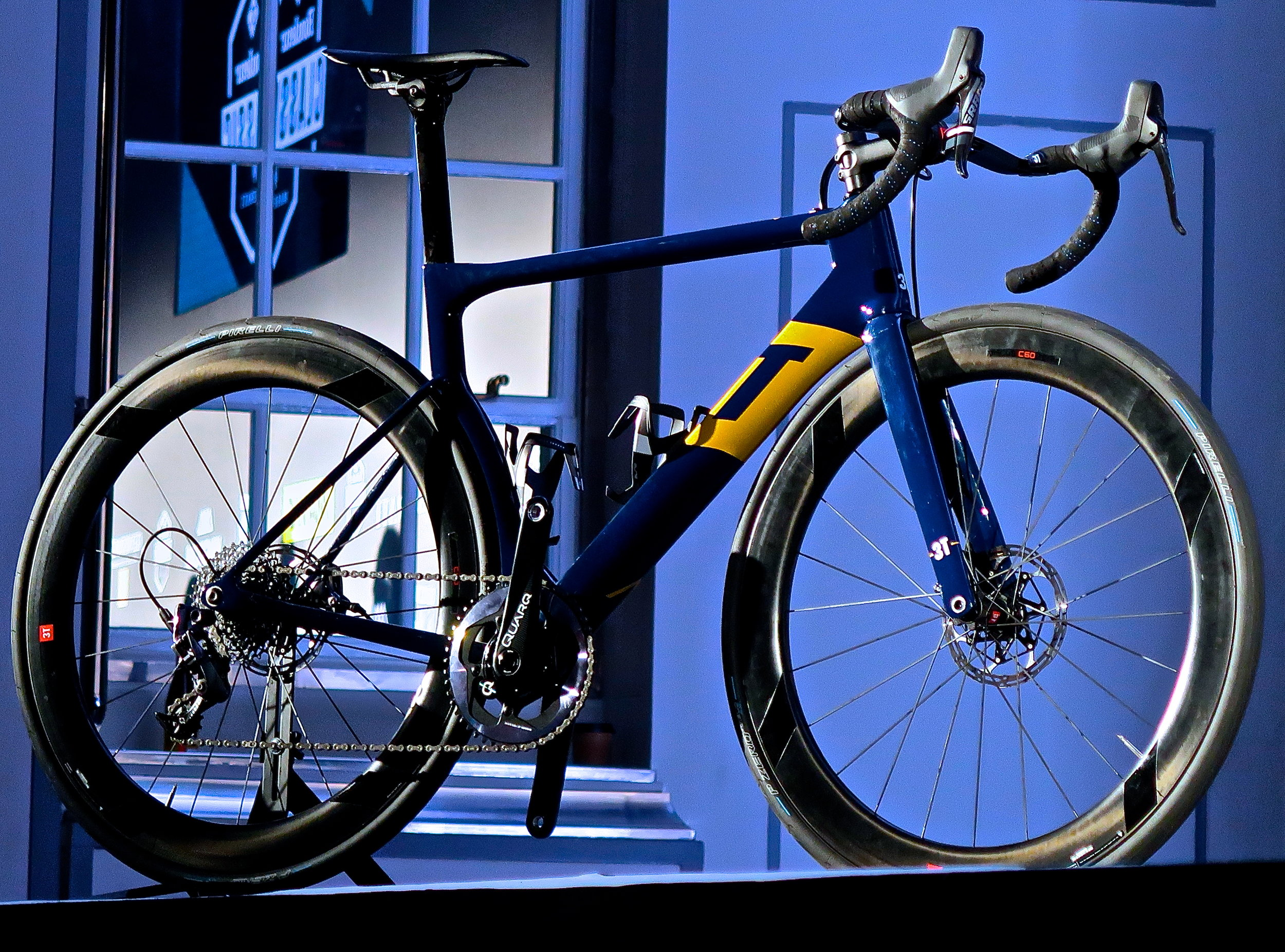 Aqua Blue's new 3T Strada
