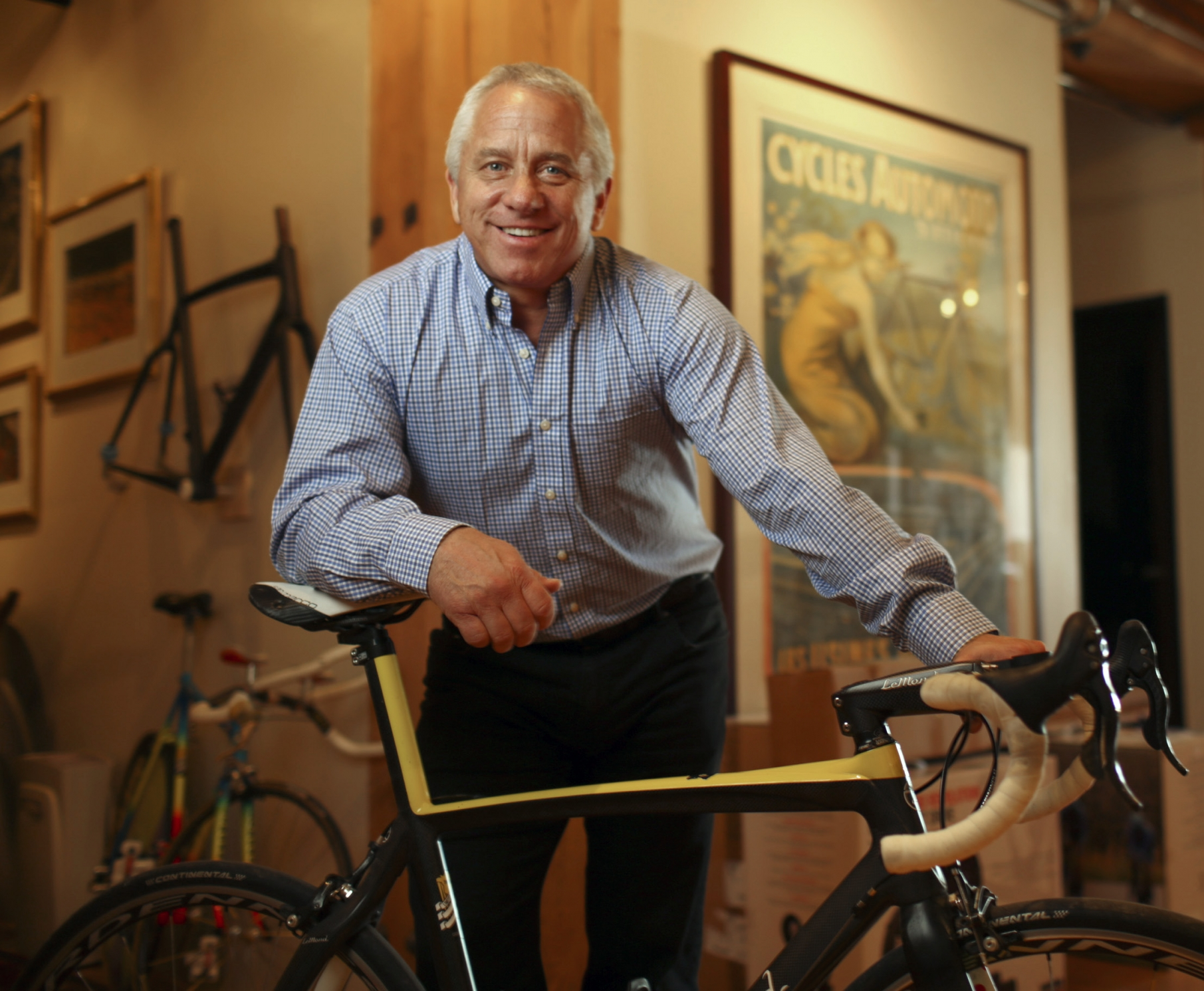 Greg LeMond won three Tour de France titles