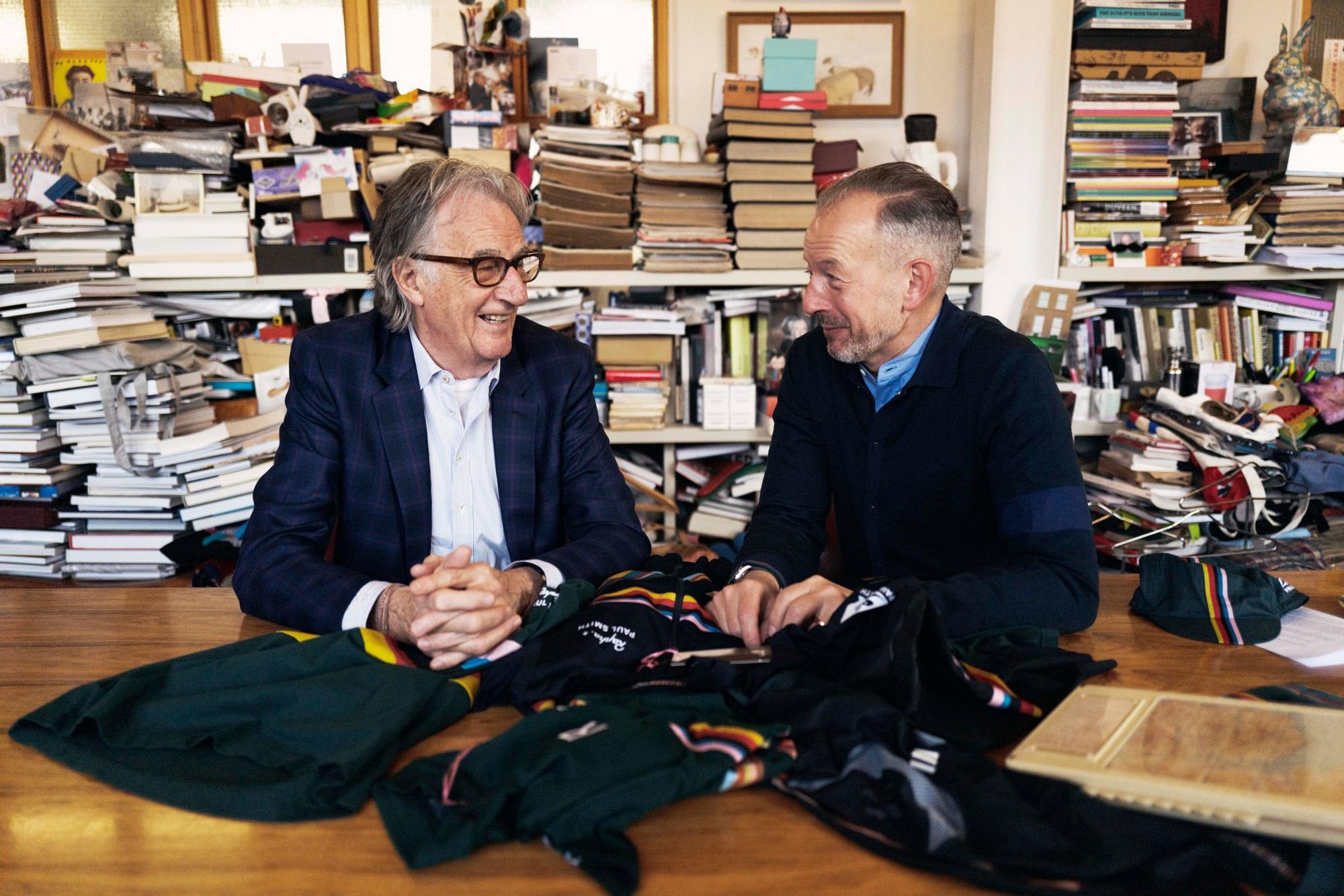 Sir Paul Smith and Simon Mottram