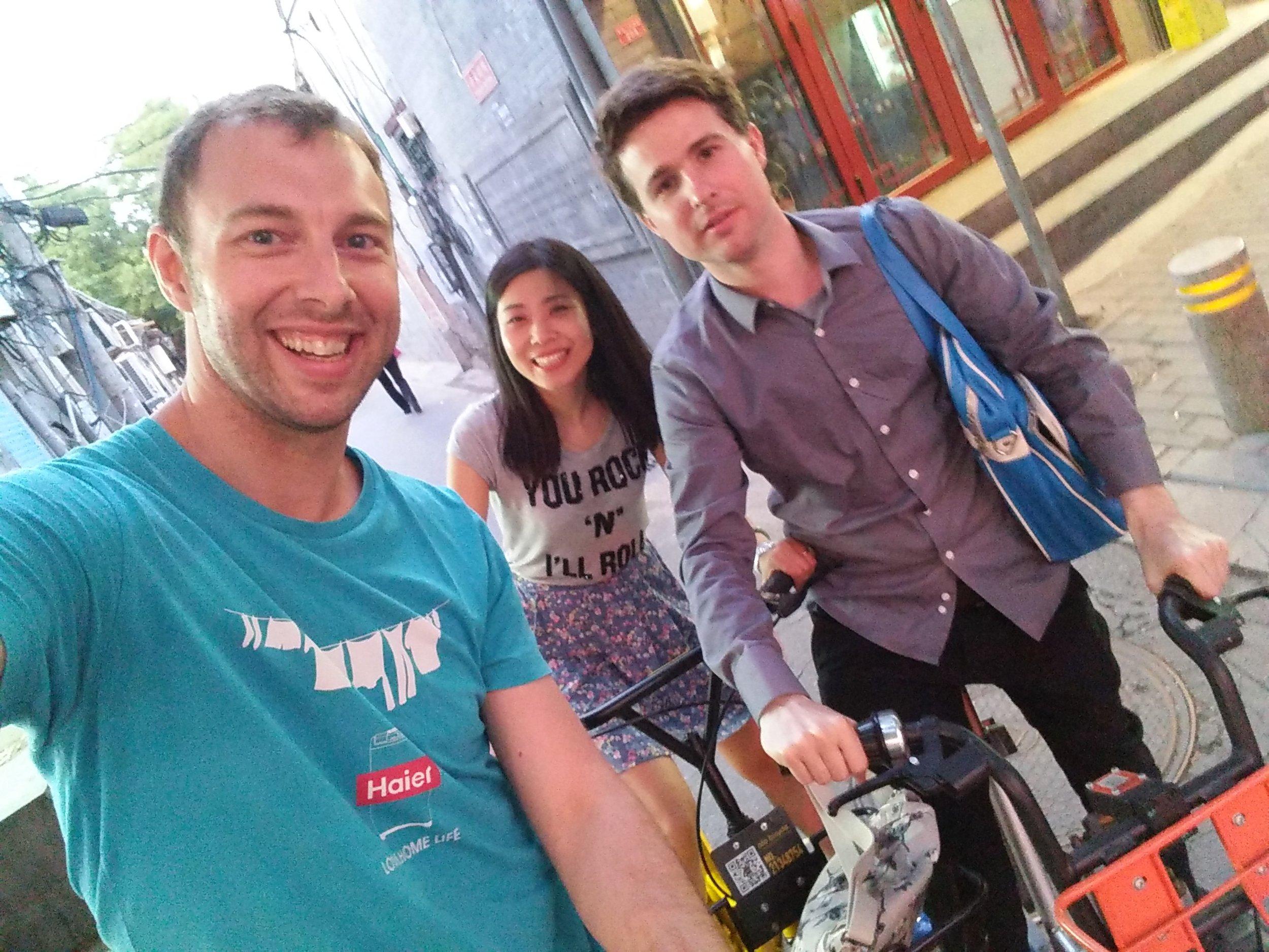 Ross, Tracy & Simon