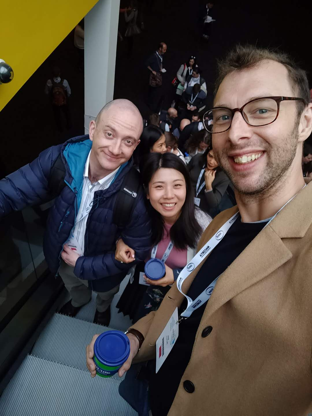 Tracy, Dave and Ross at IATEFL 2019