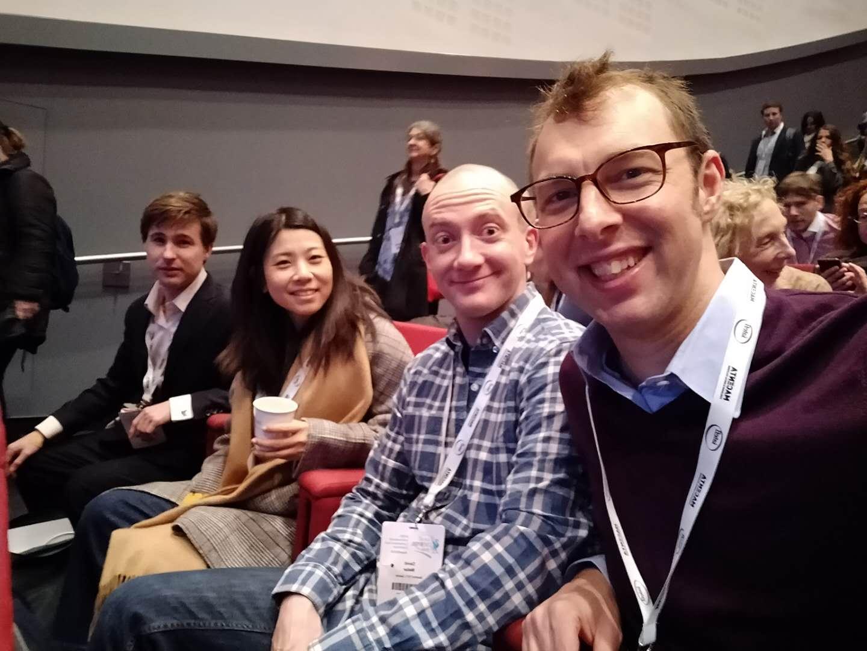 Simon, Tracy, Dave & Ross at IATEFL 2019