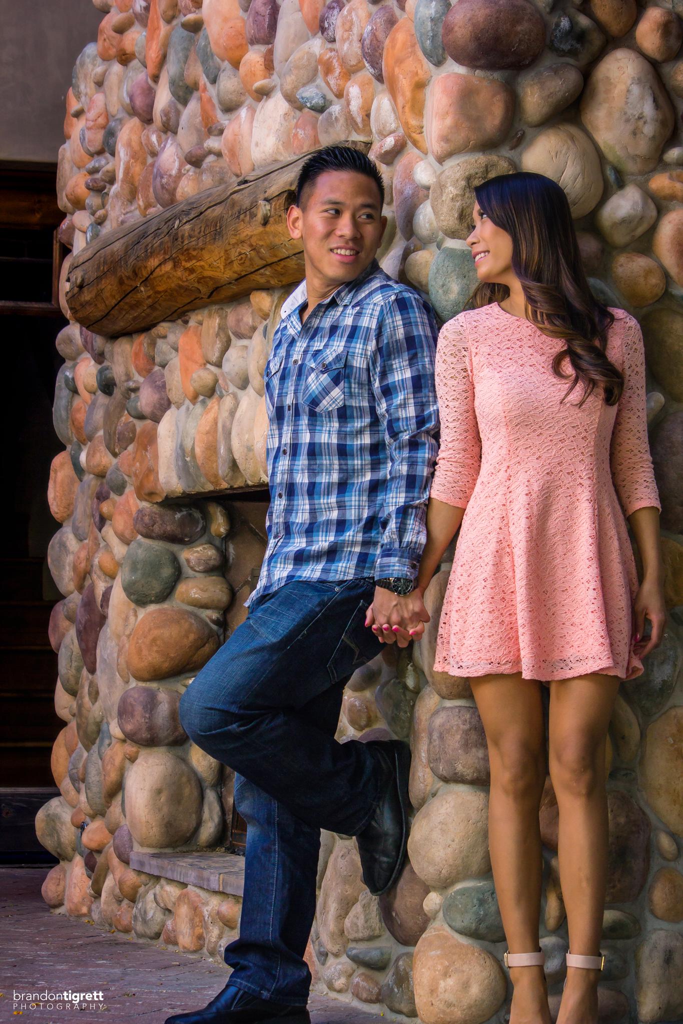 Scottsdale Engagement Photos - Austin + Phoebe