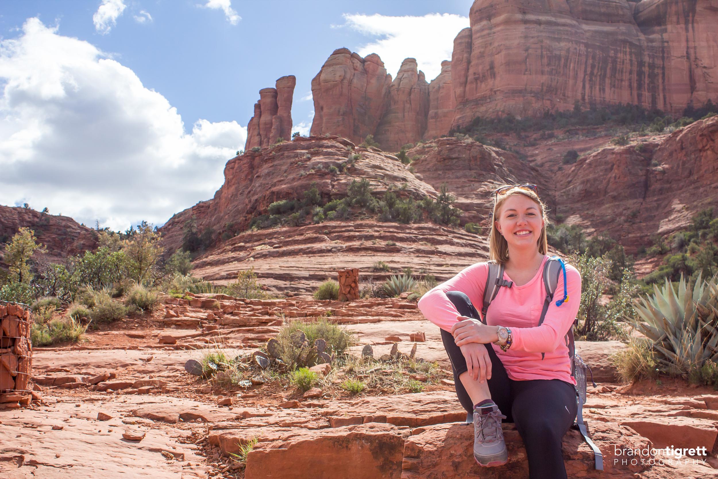 Sedona Cathedral Rock Hiker - Chloe