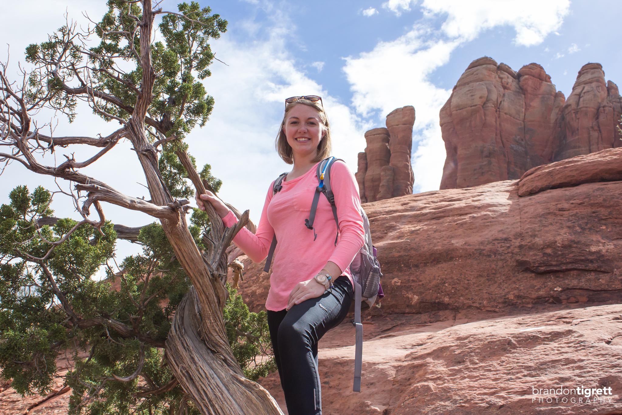 Sedona Cathedral Rock Hiker