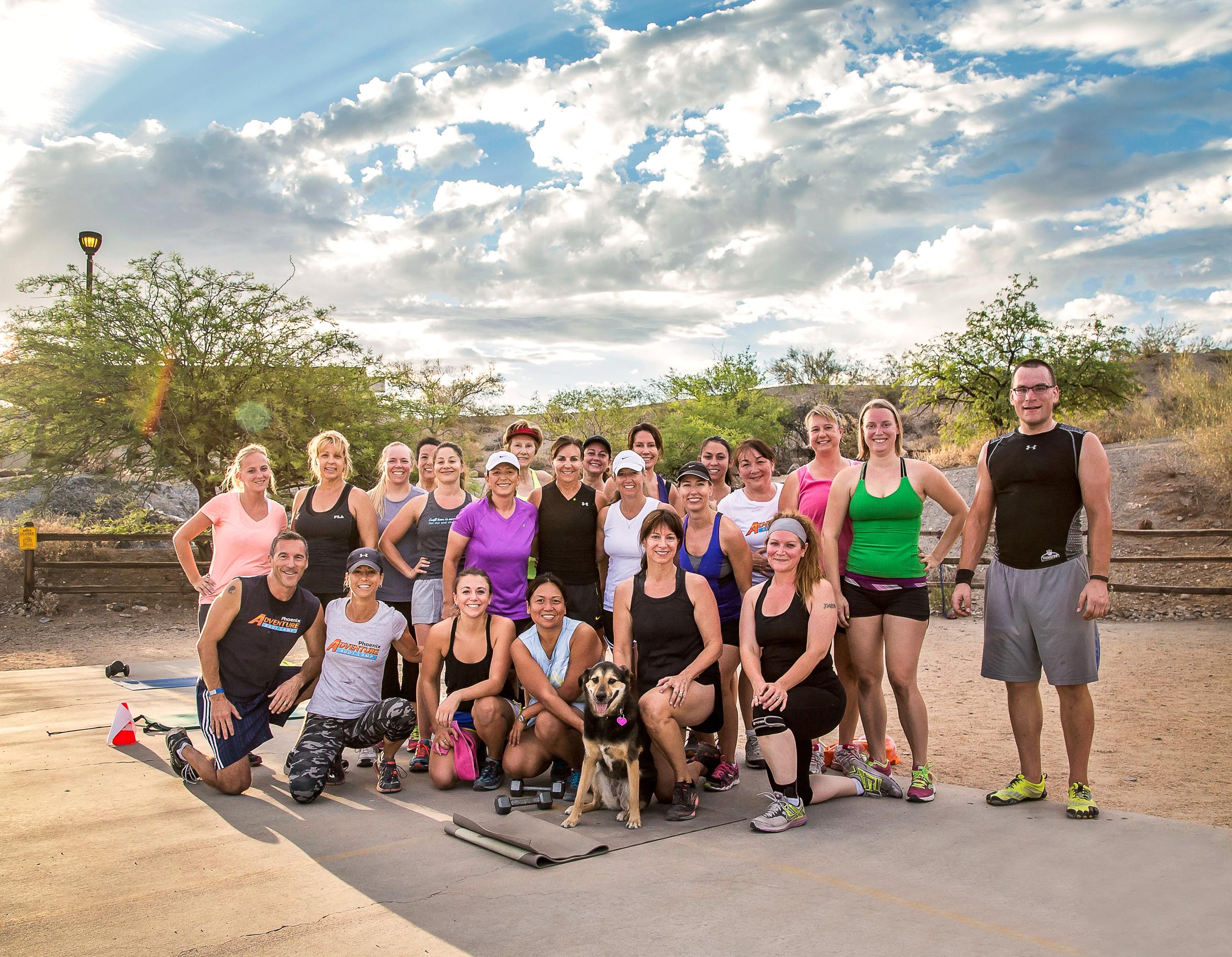 Phoenix Adventure Bootcamp Group Photo