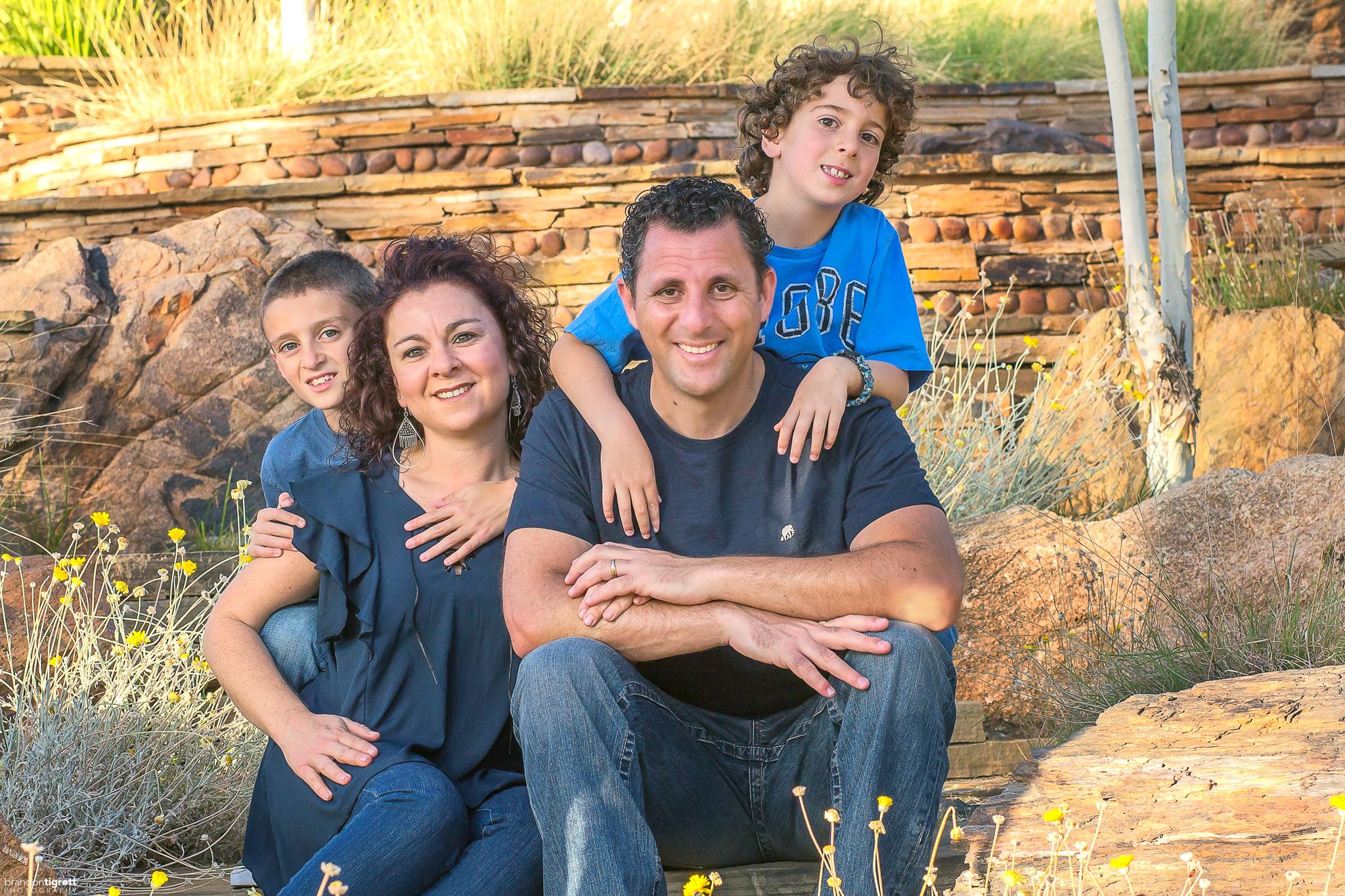 Scottsdale Family Photo