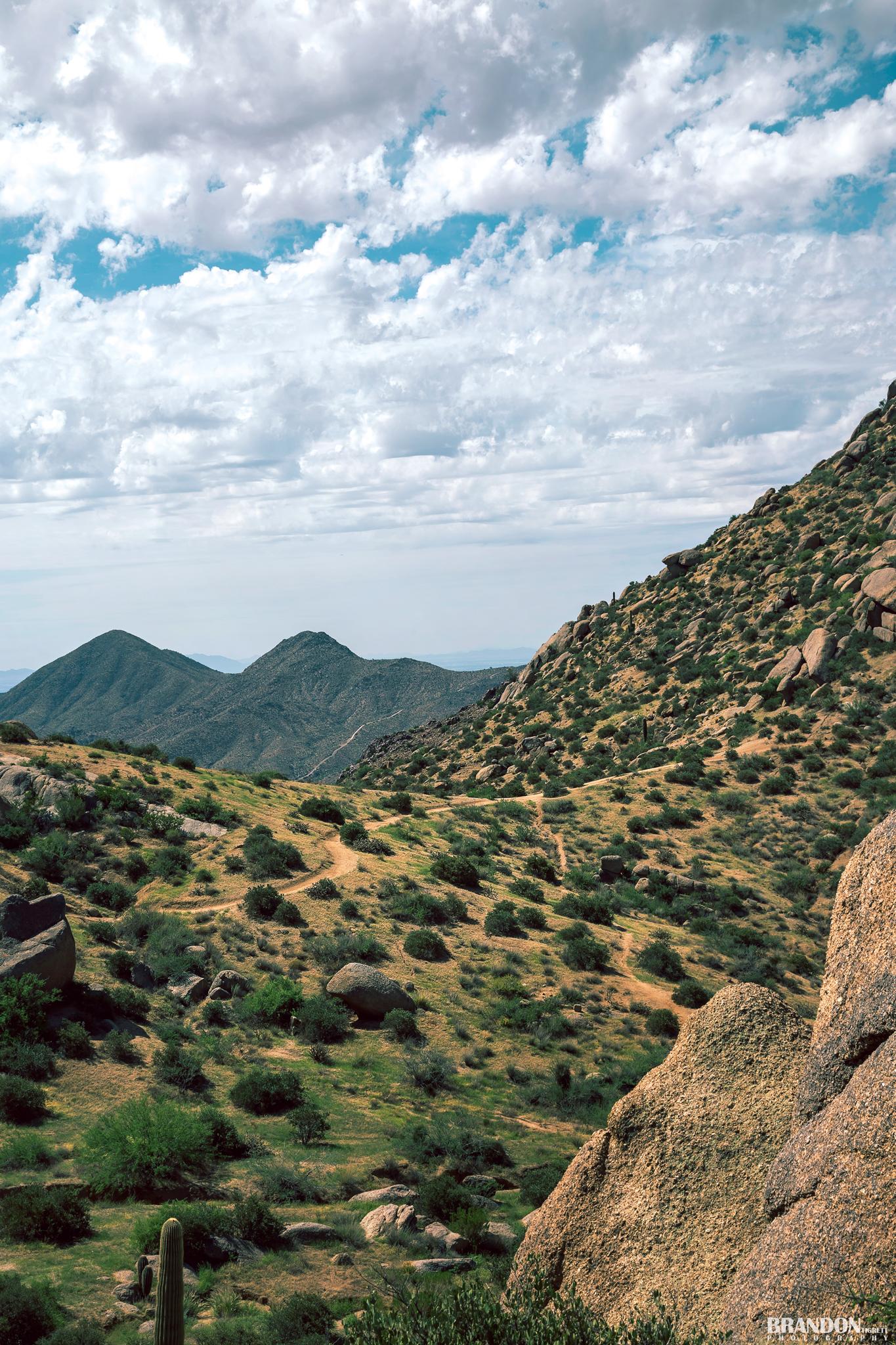 Green Mountains of Arizona - Tom's Thumb Trail